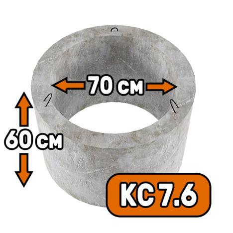 Горловина колодца КС 7-6 - фото